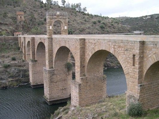 мост Алькантара (Испания)