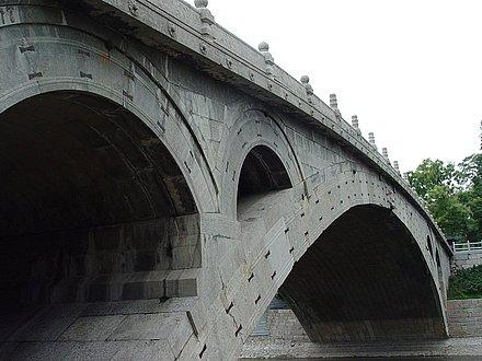 Мост Аньцзи вблизи