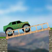 игра на ловкость - мост для машины