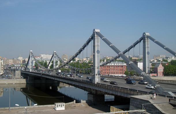 Крымский мост. Москва