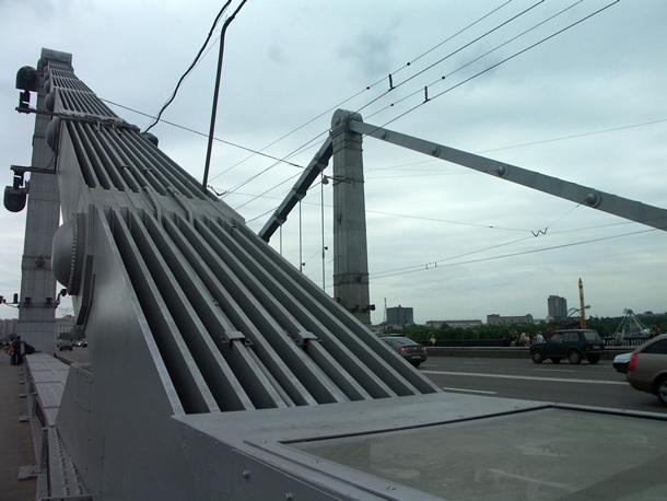 Ванты Крымского моста