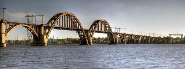 Мерефо-Херсонский мост через Днепр