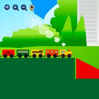 игра мост для мини поезда