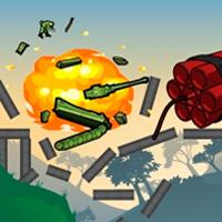 игра мосты и тактика - взрывать мост